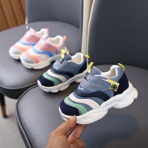 Kiwief Herbst Kinder Schuhe Jungen Sneakers Atmungsaktive Patchwork Hookloop Sport Laufende Kinder Schuhe Für Mädchen Casual Schuhe 2020 C1120