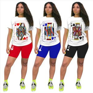 Two Piece Outfits for Women Summer 2021 oversized plus size 3XL 4XL Womens 2 Piece Outfit Set Top and Shorts Set Matching