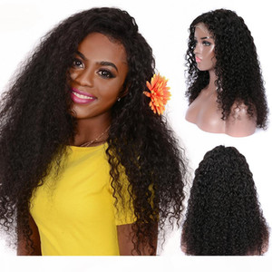 laurinda 13x4 Kinky Curly Lace Front Human hair Wigs for and straight wig perfect women remy hair and send you a n95 mask
