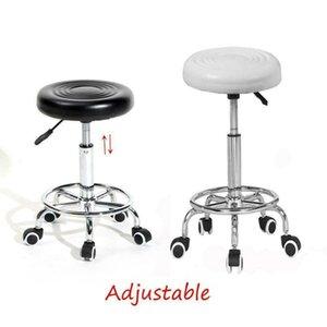 Hydraulic Adjustable Salon Stool Swivel Rolling Tattoo Chair SPA Massage