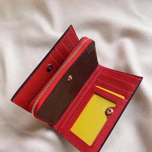 Design design Haute Qualité Lady Flower Portefeuille en cuir Original Box Numéro de série Portefeuille multifonction, super pratique.