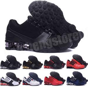 2021 Yeni Cadde 803 802 Erkek Ayakkabı Tasarımcılar Tenis Ayakkabı Üçlü Siyah Beyaz Kırmızı Gri Hava Sütun Tampon Erkek Eğitmenler Sneakers 40-45