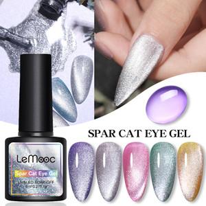 8ML Spar Cat Eye Hybrid Varnishes Gel Nail Polish Set For Manicures Chameleon Jelly Color Gel UV Base Top Coat