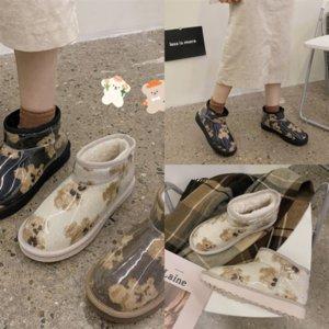 7WIW Winter Children's Boys Boot Boot Boots Moda del ginocchio su Slim Chaussure Kidsboot Child Shoe Sport per ragazze nere