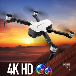 RC GPS Drone with 4K HD Dual Camera Gesture Foldable Follow Me Quadcopter with Wifi Camera Flight 23mins Dron VS F11 B4W SG9061