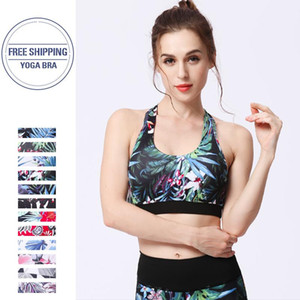 Women Sports Bra Mid Impact Support Backcross Yoga Bra Running Workout Underwear Fitness Sports Top