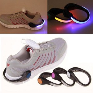 New Arrival LED Luminous Shoe Clip Light Night Safety Warning LED Bright Flash Light For Running Cycling Bike