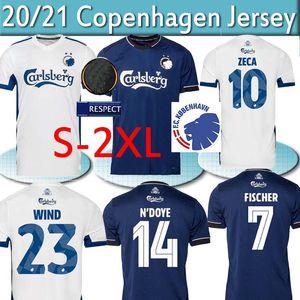 2020 2021 Superligaen FC Danimarca Copenhagen Jerseys Soccer Zeca Fischer Skov Daremy Men Kit Camicie da calcio Uniformi S-2XL