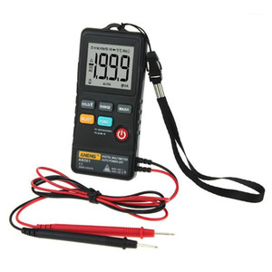 multimeter digital tester AN301 Push button multimeter LCD Display 1999 Counts DC AC Voltage Tester For Electricians Test Tool1