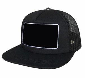 NEW CORÉEN WAVE CAP Lettre Broderie Mode Cap Cap Mâle Hip Hop Visière Visière Mesh Mâle Croix Punk Punk Baseball Chapeau