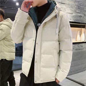nk Winter Jackets New Men 2020 Winter Warm Out Wear Large size men's long sleeve stand collar cotton business casual zipper jacket 88604