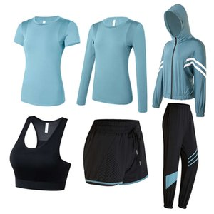 AD Donne Yoga Suit Autunno Sport Autunno Sport Morning Morning Goney Gym Fitness Vestiti netti Red