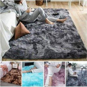 1pcs 4 Colors Plush Floor Fluffy Mats Plush Thick Carpet Rug Fluffy Floor Carpets Window Rugs Soft Velvet Mat for Living Room1