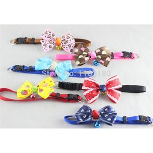 200 pcs lot New Fashion Cute Dog Puppy Cat Kitten Pet Toy Bow Tie Necktie Collar Clothes decoration free shipping Z1127