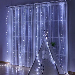 New Year Garland Curtain Fairy String Light LED Christmas Decorations for Home Christmas Tree Decor Navidad 2020 Xmas Ornaments Y1125