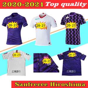 J1 League SanFrecce Hiroshima Футбольные трикотажки 2020 SanFrecce Hiroshima Home Purple Футбольная рубашка 2020men Футбольная форма