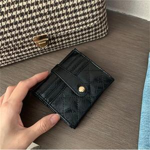 DHL Retro oil skin tide Women Simple Short Wallet Coin Purse Card Holders Handbag Red Green Black 3 colours