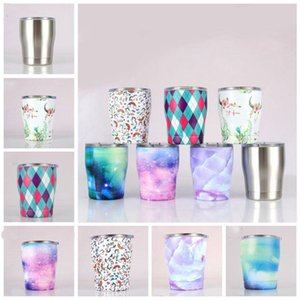 Modern Curved Tumbler Mini drinking vacuum insulated mug 12oz stainless steel kids cup with lid wine tumblers LXL1077-1