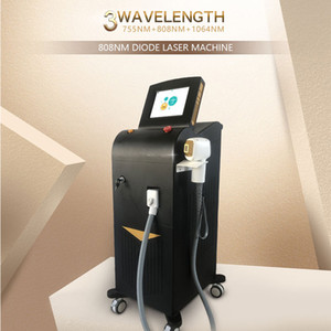 CE approved permanently hair removal Laser 755 808 1064 nm   Diode 808nm laser hair removal machine with Germany DILAS laser bar