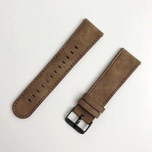 Para Samsung Gear S3 Frontier / Clásico Reloj Banda de cuero 22mm Follome Wamkband California Vaquero Estilo de reemplazo Strap1