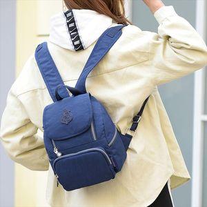 New Women backpack Nylon Vintage Teenagers Backbag Female Small backpacks Casual Daypack High Quality travel Shoulder bags