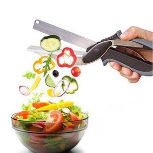 Gemüseschere Utility Cutter Messer Edelstahl Cutter Chef Küchenmesser Outdoor Kochen Messer Küchenzubehör ZYY80