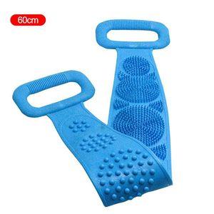 Magic Silicone Brush, Bath Towel, Rubbing Back, Peeling, Exfoliating, Body Massage, Shower, Extended Scrub, Skin Cleaning, Shower Brush