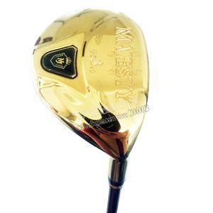 Neue Männer Golfclubs Maruman Majesty Prestigio 9 Golfhybriden UF2 / 16 oder UF3 / 19 Holzclubs Graphitwelle und Kopfknopf Kostenloser Versand