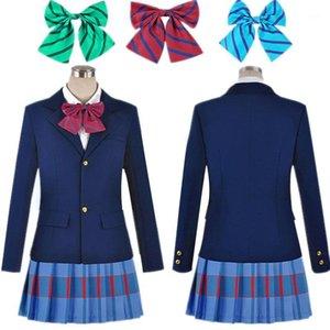 Anime LoveLive Love Live Cosplay Costume Kousaka Honoka Minami Kotori Ayase Eli Tojo Nozomi Nishikino Maki Escuela Uniform1