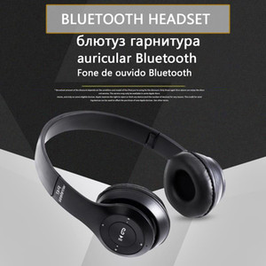P47 Blutooth Wireless Headphone Audio Stereo Cordless Headset Auriculares Bluetooth For Computer Head Phone PC With Mic