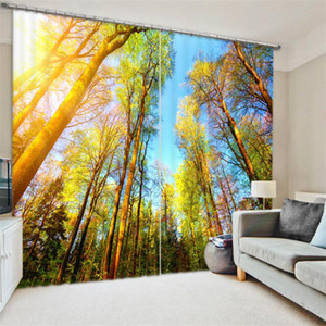 Luxury 3D Curtains Drapes for Living Room Office Hotel Home Wall Tapestry Can be Customed