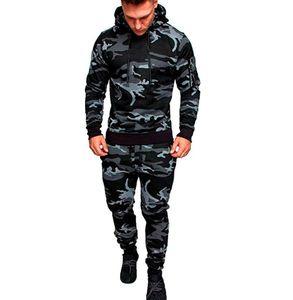 Tracksuits pour hommes Spring Spring de Springswear Sportswear Settings Homme Bodybuilding Hoodies Casual Pantalons Outwear Suites Hauts