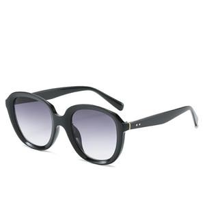 Солнцезащитные очки 2021 Ретро Классические Круглые Лето Женщины Очки Старинные Моды Рама Девушки Солнце UV400