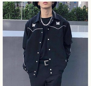 hot sell New Jacket Men and Women 1 High-Quality Vintage British Style Embroidery Coats