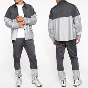 Erkek Eşofmanlar 2021 Casual Ceket Takım Elbise Açık Spor Hırka Pantolon Hızlı Kurutma Eşofman Erkekler Sweak Giyim