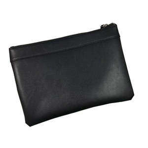 Code 2 Genuine Leather Men Clutch Bag Business Zipper Bag Man Handbag Briefcase Soft bags High Quality