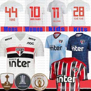 NCAA Sao Paulo Soccer Jersey REINALDO PATO JUCILEI PABLO JUCILEI PABLO football shirt DANI AES V.BUENO HERNANES EVERTON Maillots de foot t