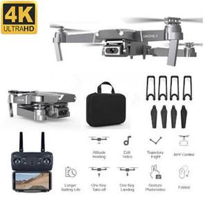 Профессия 4K WiFi FPV мини-дрон с широкоугольным HD-камерой High Hamight Mode RC Quadcopter вертолет детская игрушка 201105