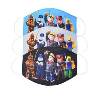 Roblox لعبة مجموعة التنفس حزب قناع مكافحة الغبار الاطفال reusable قابلة للغسل تنفس الفم غطاء الخبث القطن أنيمي للأطفال