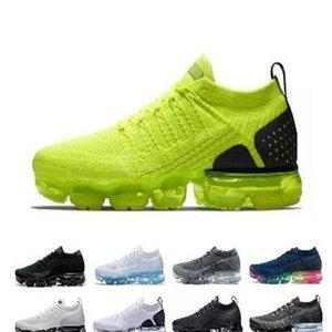2018 2019 chaussures moc 2 laceless 2.0 الاحذية الثلاثي الأسود مصمم رجل النساء أحذية رياضية يطير الأبيض متماسكة وسادة المدربين zapatos