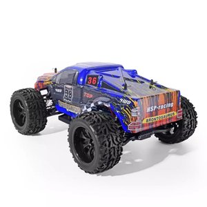 HSP Racing RC Car 4wd Off Road Trucks 94111 1 10 Scale Electric Power 4x4 vehicle Toys High Speed Hobby Remote Control Car