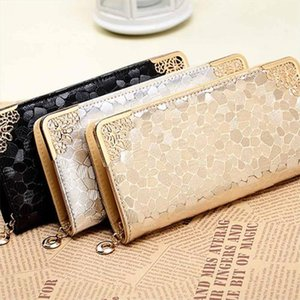 2020 new womens purses and handbags bags girls brand long women leather wallet female evening clutch purses Card Holder