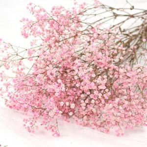 Light Pink Garland Immortal flower baby breath flower bunch valentine's day gift wedding touch bouquet Y1128