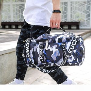New Style Travel Backpack Hand Large-Volume Wet And Dry Separation Gym Bag Multi-functional Shoulder Hand Yoga Bag