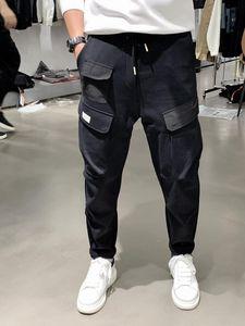 Мужские штаны BK1108 Мода 2021 Взлетно-посадочная полоса Европейский дизайн вечеринка в стиле одежды