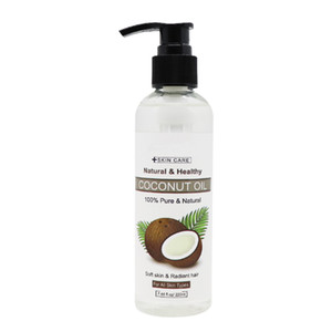 2021 New Fractionated Coconut Oil Body Massage Oil Skin Firming And Tightening Tool Hair Care 100% Pure And Natural 220ml Elitzia ETMS015