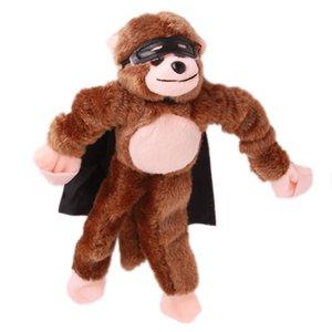 لينة لطيف الأطفال الصبي فتاة طفل أطفال أفخم مقلاع الصراخ الصوت مختلطة للاختيار أفخم الطائر القرد لعبة C304