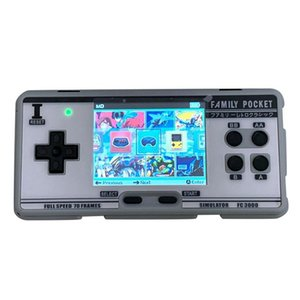 Handheld Game Console Video Gaming Console 8 Bit 2G Memory Simulator FC3000 Handheld Children Color Game PXPX7