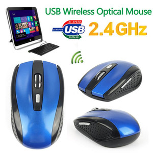2.4GHz Wireless Optical Mouse Mice USB Receiver For PC Laptop Macbook Cordless Optical Mouse Mice