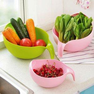 Riz Filtre de lavage Filtre Creative Plastique Haricots Nettoyant Gadget de cuisine utile Pratique Cuisine Outil gratuite Livraison Gratuite Owe3124
